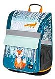 Schulranzen Mädchen 1. Klasse - Ergonomische Schultasche für Kinder - Schulrucksack mit Brustgurt - Grundschule Ranzen (Foxie)
