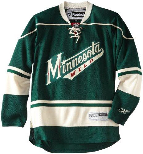 NHL Minnesota Wild Premier Jersey, Green