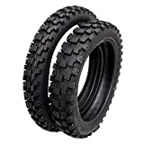 MMG Tires Set Front 70/100-17 and Rear 90/100-14 for Off Road Motorcycle Motocross Trail