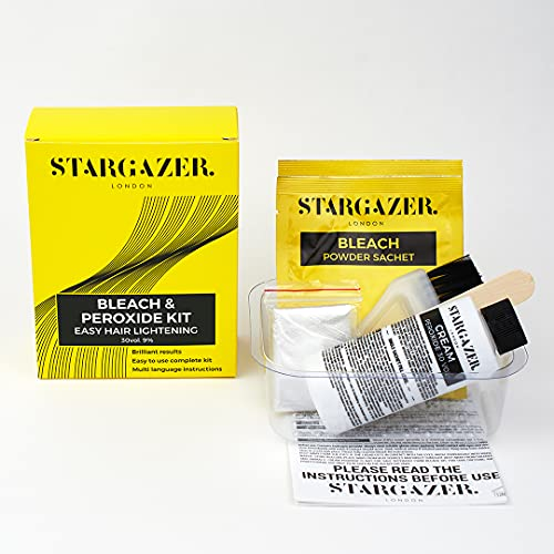 Stargazer Bleach and Peroxide Kit, the complete home kit for hair decolouring and bleaching