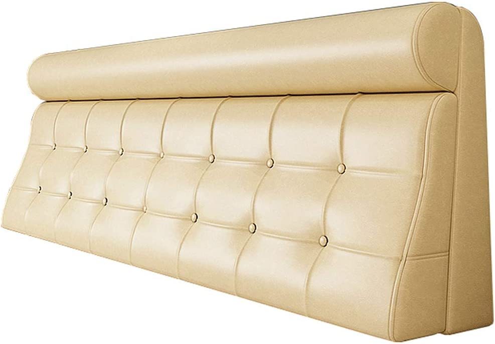 YXYH Comfort Headboard Direct In a popularity store Wedge Pillow Pads Bedside Cushion Leather