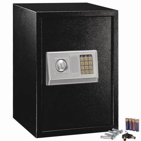 Safstar Electronic Digital Security Keypad Lock Box Home Office Hotel Safe Business Jewelry Cash Money Gun Cabinet (13.8