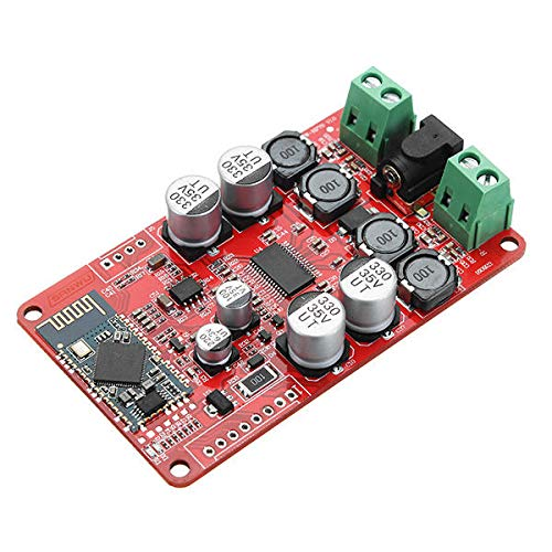 KASILU YHJ322 TPA3118 DC 8-26V 2 x 30W Dreifache Kanal Bluetooth-Leistungsverstärkerplatine Stereophonie Bluetooth CSR4.0-Empfänger-Digitalverstärkerplatine Hochleistung