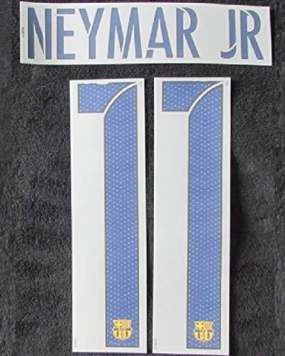 Nike Original 2015-2016 Barcelona FC Neymar JR Flock Away Trikot