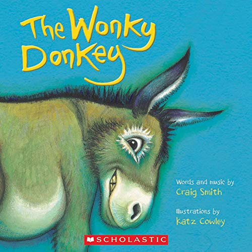 The Wonky Donkey - Craig Smith (2010), Hardcover Children's Book