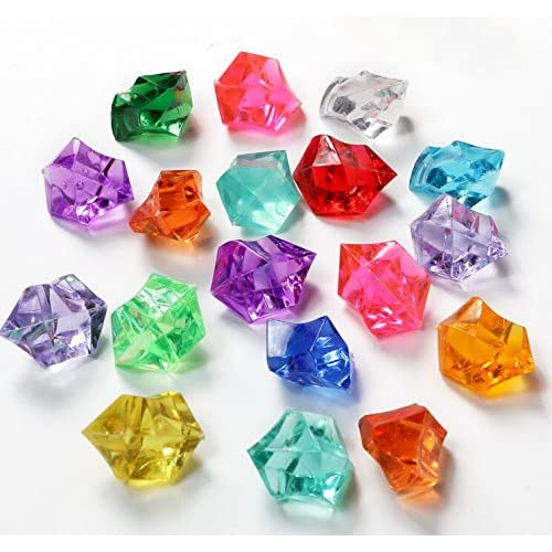 Jewels Gems Rocks Crystal Diamond Treasure 2 of each Color-9 Colors NEW LEGO 18