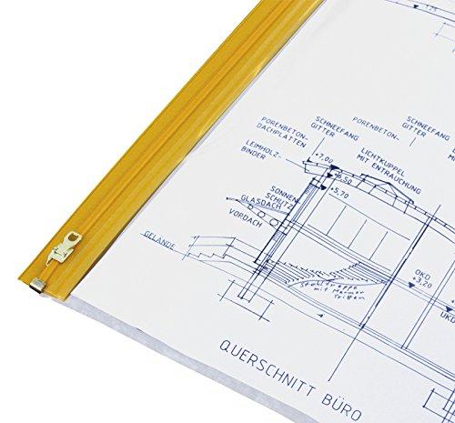 HELE Planschutztasche das Original, 10 Stück DIN A1-650x900 mm
