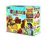 Dinosaurus - ChocoLeche - Galleta de cereales con chocolate con leche - 8 paquetes - [pack de 3]
