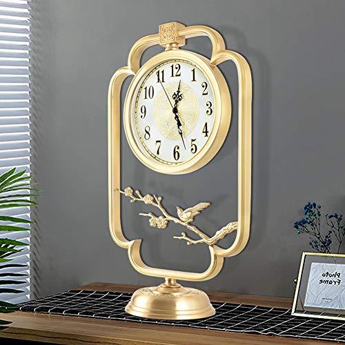 Sorand Reloj de Mesa de Estilo Vintage Europeo Reloj de Mesa