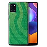 Phone Case for Samsung Galaxy A31 2020 Reptile Skin Effect