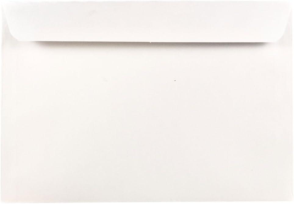 JAM PAPER Overseas parallel import regular item 6 1 2 Classic x 9 5 - Booklet Envelopes Commercial White