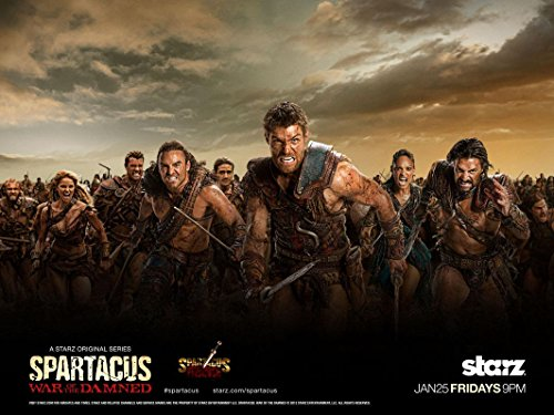 Spartacus-War of The Damned Poster auf Seide/Siebdrucke/Tapete/Wanddekoration 520435575