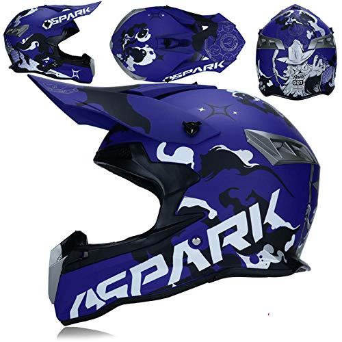 Motorradhelm Motocross Integralhelm Motorrad ATV Buggy Helm, 5_XL
