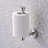 Umi. por Amazon Portarrollos para Papel Higiénico Portarrollo de baño de acero inoxidable cepillado para montaje en pared, A2175S12-2