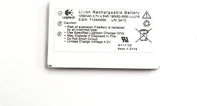 Logitech 1250mAh 3.7V Li-Ion Rechargeable Battery For Remote Control Harmony 915 1000 1100 LU18