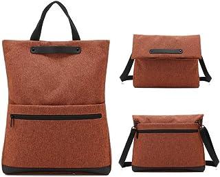 Men's Folding Laptop Bag Simple Messenger Bag Dual-use Oxford Cloth Business Meeting Briefcase