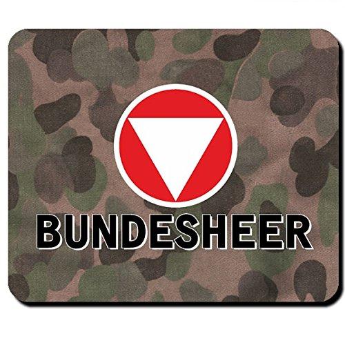 Bundesheer Österreich Armee Heer Wappen Korkade Ostmark Erbsentarn Flecktarn Uniform Alpen Austria Wien- Mauspad Mousepad Computer Laptop PC #8039