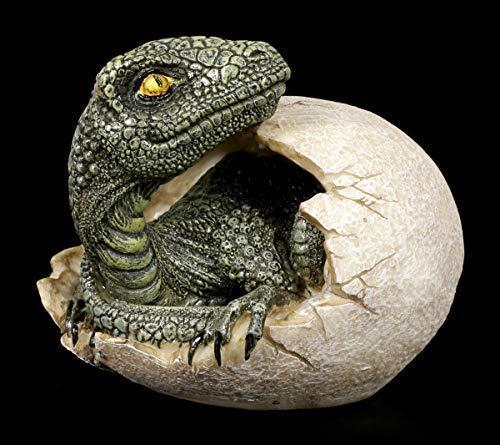 Dinosaurier Figur schlüpft aus Ei - Raptors Dawn | Fantasy Baby-Dinosaurier, Handbemalt