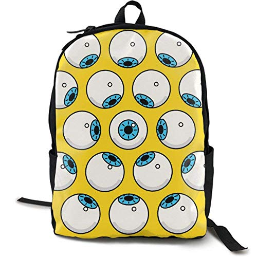 XCNGG Zaino per stampa full frame per adulti Zaino casual Zaino per scuola NiYoung Travel Backpack Laptop Backpack Large Diaper Bag - Eyeball Winter Backpack School Backpack for Women & Men