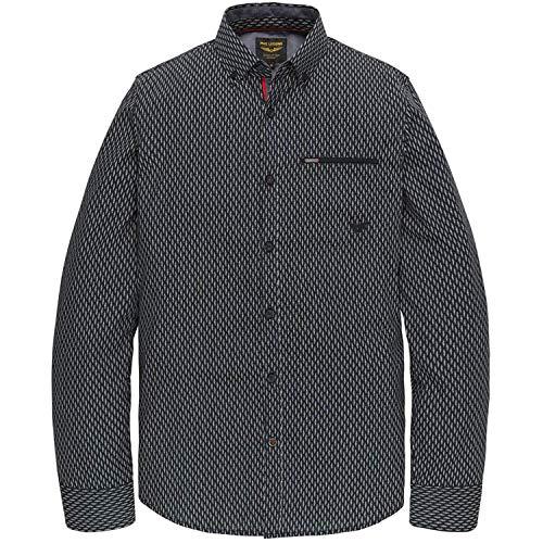 PME Legend shirt met lange mouwen Poplin met all-