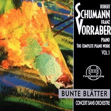 Robert Schumann: Complete Piano Work 1