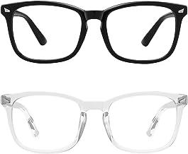 عینک مسدود کننده نور آبی MEETSUN ، سردرد ضد چشمی (خواب بهتر) ، عینک خواندن رایانه UV400 لنز شفاف
