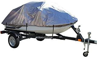 iCOVER Personal Watercraft Cover- Water Proof Heavy Duty Trailerable PWC Cover, Jet Ski Cover, Fits PWC Models Up to 124in Long, 49in Wide and 42in high PWC5102