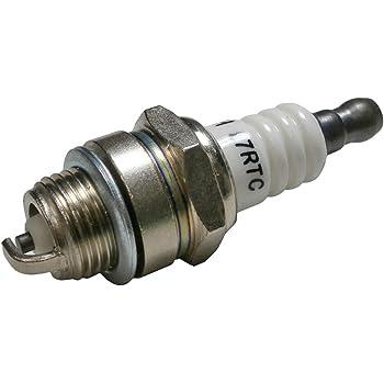 4Spark Plug For Stens 131-055 Torch F7RTC Champion RN9YC NGK BPR7ES 81-3250 Toro