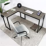 Amzdeal Mesa Escritorio Esquinero, Escritorio en L Mesa de Ordenador, mesa de...
