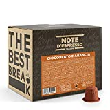 Note d'Espresso Italiano - Instant soluble product Orange Chocolate capsules 7g x 100 Compatible con cafeteras Nespresso*