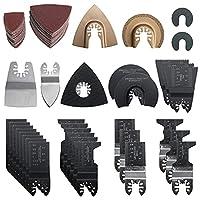 ブレード カットソー マルチツール 替刃 108点セット 先端工具 金属 釘 木材切断適用 互換