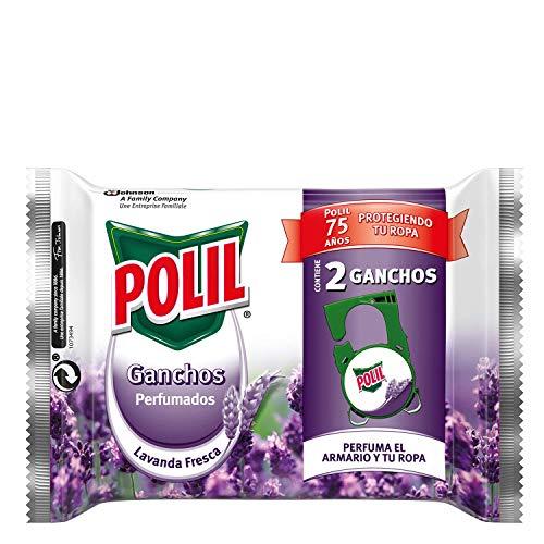 Raid Polil Perfumador, 2 Ganchos, Lavanda Fresca, 2 Unidades