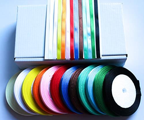 CaPiSo® - Caja 12 Colores Cada 22 m 6 mm Ancho, Cinta