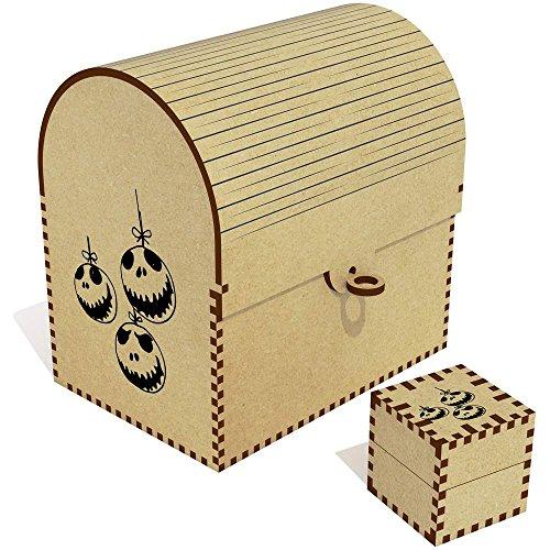 Azeeda 'Halloween Kugeln' Groß Schatztruhe / Schmuckschatulle (TC00029773)