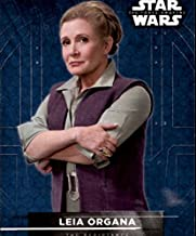 2016 Star Wars The Force Awakens Series Two Character Stickers #6 Leia Organa
