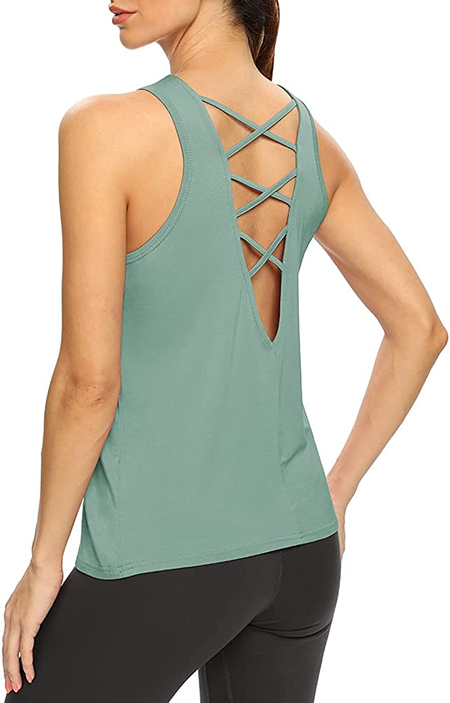 OFFicial mail order Fashion Bestisun Open Back Workout Shirts W Backless Top Strappy