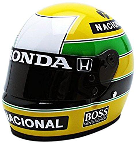 Mini Helmet - 70010400 - Véhicule Miniature - Modèles À L'échelle - Casques A. Senna - MC Laren 1988 - Echelle 1/2