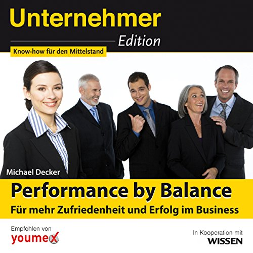 Performance by Balance audiobook cover art