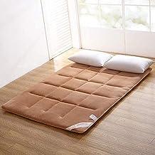 Futon mattressNon-Slip Mattress Topper,Tatami Bed Mattress,Mattress Thin Mattress Student Single Double Solid Color Tatami...