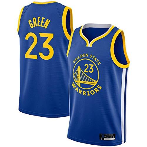 QWRE Camiseta de baloncesto para hombre Draymond, modelo 23, color verde