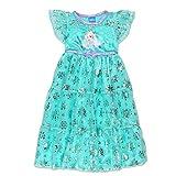 Disney Pyjama-Fantasy-Nachthemd von Elsa Anna für Mädchen 3T Blau Lila