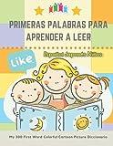 Primeras Palabras Para Aprender A Leer Español Japonés Niños. My 300 First Word Colorful Cartoon Picture Diccionario: Montessori. Ejercicios para ... del niño y prepararlo para la lectura