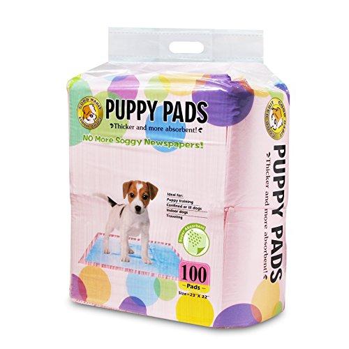 Best Pet Supplies Puppy/Training Pads, Pink, 100 Pack