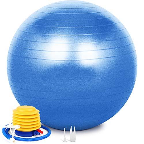 SIYWINA Ballon Fitness Ballon de Grossesse Yoga Ballon d'exercice Pilates Swiss Ball pour...