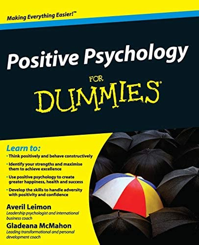 Positive Psychology For Dummies product image