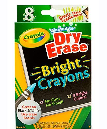 Crayola - Dry Erase Bright Crayons