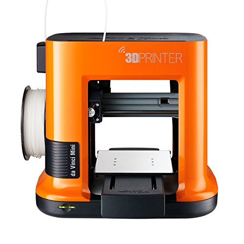 da Vinci mini 3D Wireless Printer - 6''x 6''x6'' Built Volume (Includes 300g PLA Filament, Maintenance Tools, Print Bed Tape, 3D Filles Access, 3D Design CAD Software)
