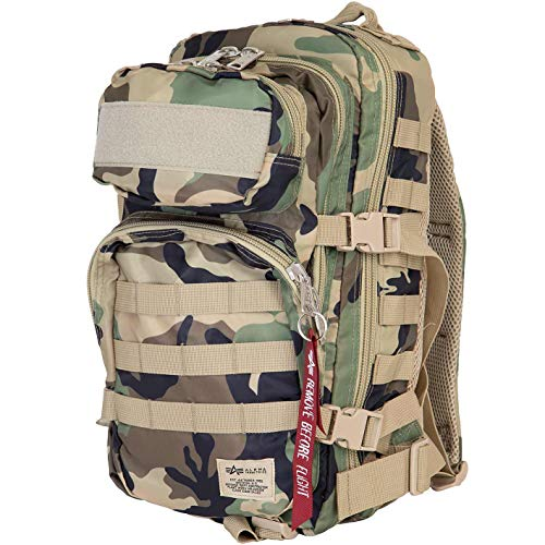 Alpha Industries Tactical Backpack Rucksack (camo, one Size)