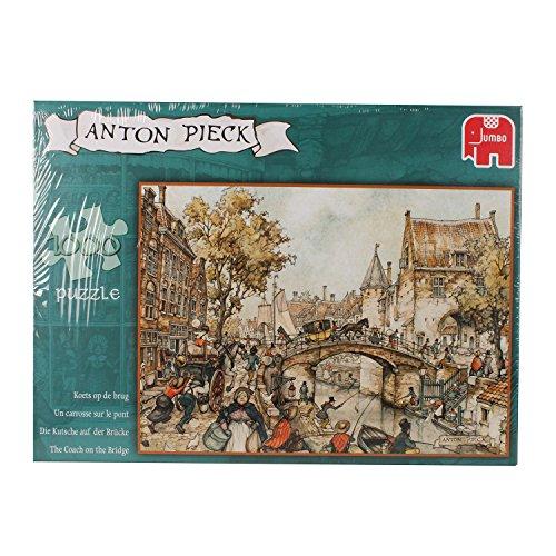 Jumbo 17066 - Puzzle de 1000 Piezas, diseño de El Puente de Anton Pieck