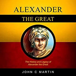 Alexander the Great audiobook cover art